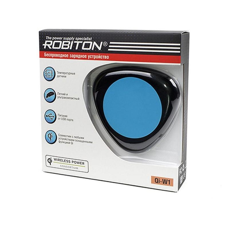 Зарядное устройство ROBITON Qi-W1 Беспроводное ЗУ Qi