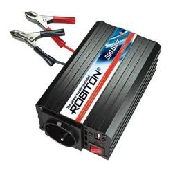 Преобразователь 24в-220в 500вт ROBITON R500/24V/USB выход