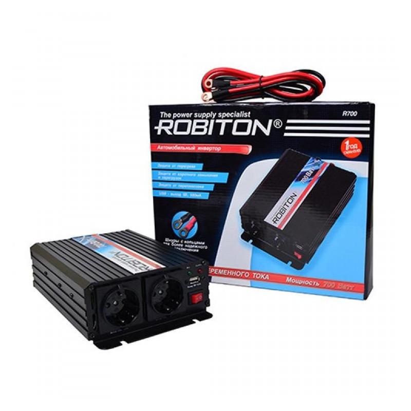 Преобразователь 12в-220в 700вт ROBITON R700
