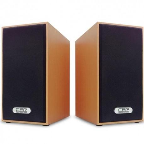 Актив.колонки 2.0 CBR CMS-635 6Вт, питание от USB, MDF, Wood