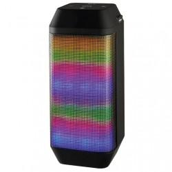 Портативная акустика Ginzzu GM-899B 6Вт, Bluetooth, FM, microSD/USB, питание от батарей, Black