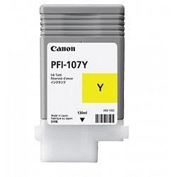 Картридж струйный Canon PFI-107Y для iPF 680/685/780/785 Yellow 130ml (6708B001)
