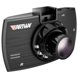 "Видеорегистратор Artway AV-520 1440*1080/120°/2.4""/microSD/1.3мп/M-JPEG/-/ночн.режим/-/-/2камеры"