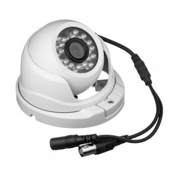 """Видеокамера Redline PT-AHD1080P-MC-IR цветная купольная, 1/2.7"""", ИК 20м, 2Мп(1080P), 3.6мм"""