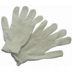 Перчатки ХБ без ПВХ - Белые
