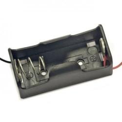 держатель батарей BH-211-1A/С, 1х1, 58х24х29мм, гибкие выводы