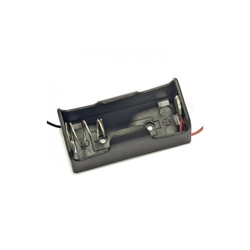 держатель батарей BH-211-1A С, 1х1, 58х24х29мм, гибкие выводы