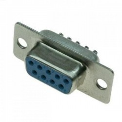 Разъем DB-9F/розетка кабельная