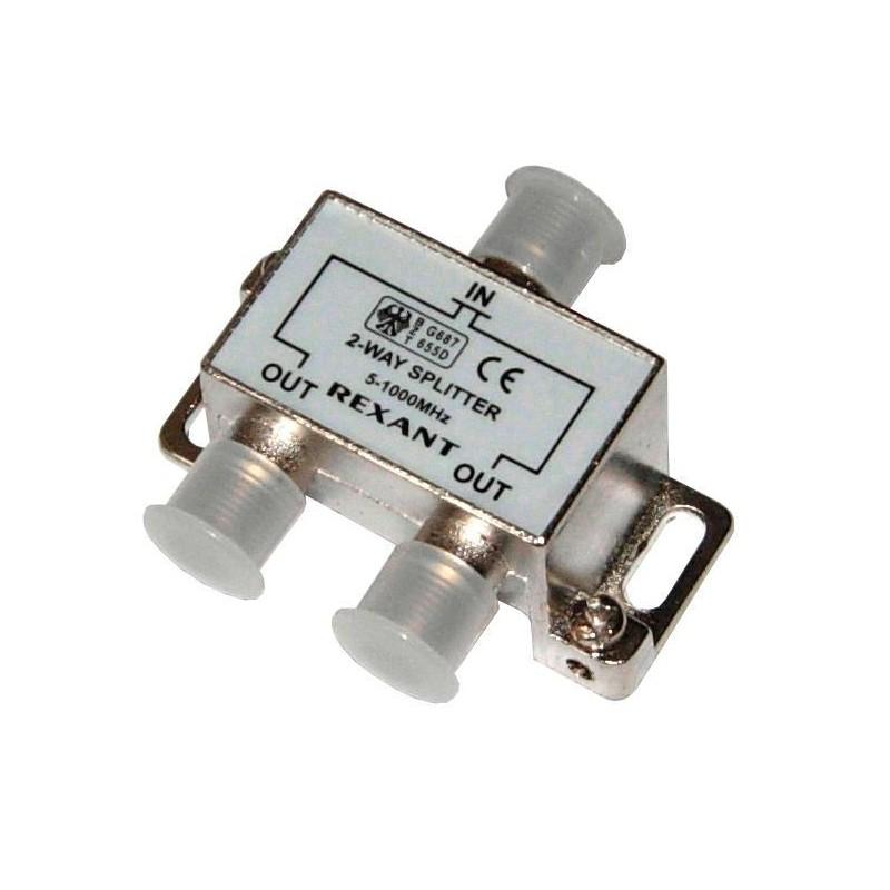 Делитель сигнала на 2 TV REXANT /5-1000Мгц/