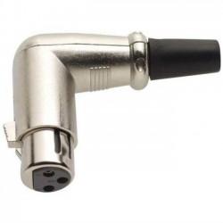 Разъем XLR /розетка кабельная, угловая/