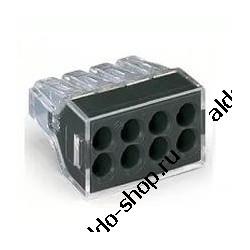 Клеммник WAGO 773-328/8х2.5мм, 20А, 300в, Cu