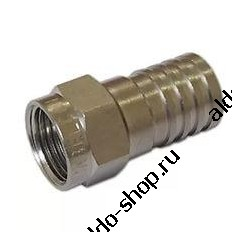 F-коннектор RG-6 /под обжим/