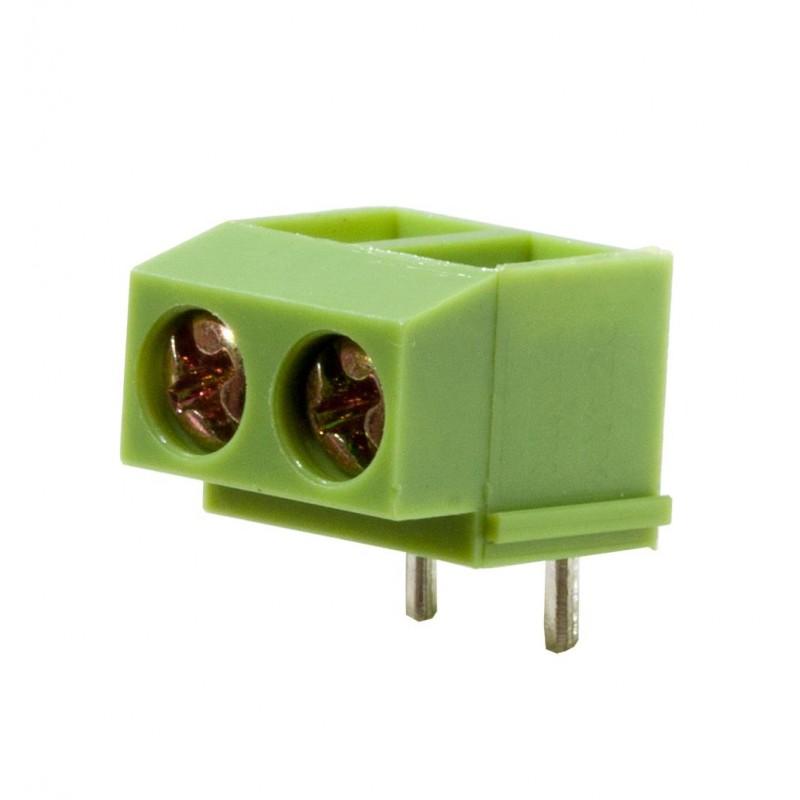 Клеммник DG126R-5.0-02P-14 /винтовой 2pin, 5.0мм, 10А, 300в