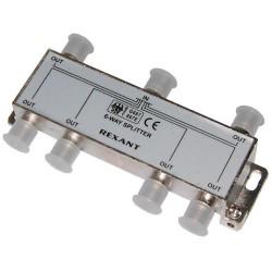 Делитель сигнала на 6 TV REXANT ETK-2506A /5-2500Мгц//проход питания