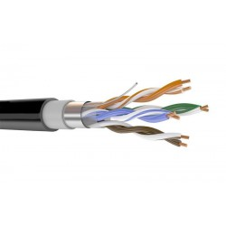 Кабель FTP 5e 4х2х0.5 Rexant /наружный/100Мгц, экран