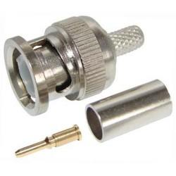 Штекер BNC RG-58 /обжим микрокоаксиал/