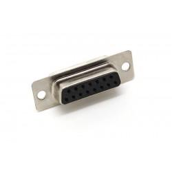Разъем DB-15F/розетка кабельная