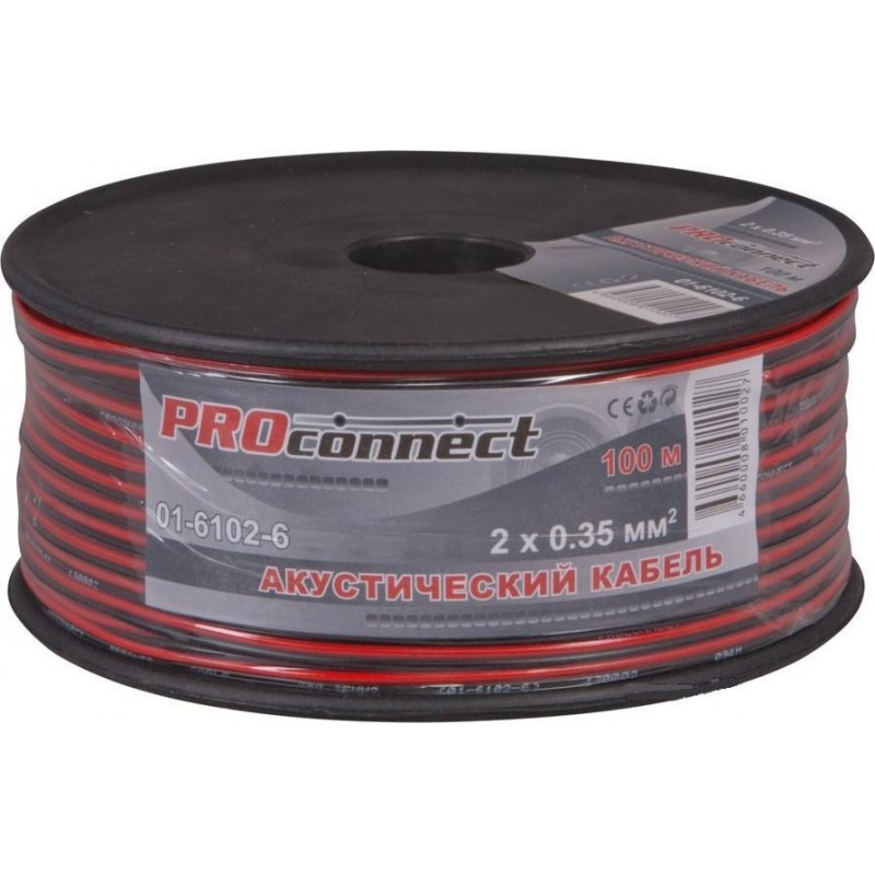 Кабель акустический ProConnect 2х0.35мм