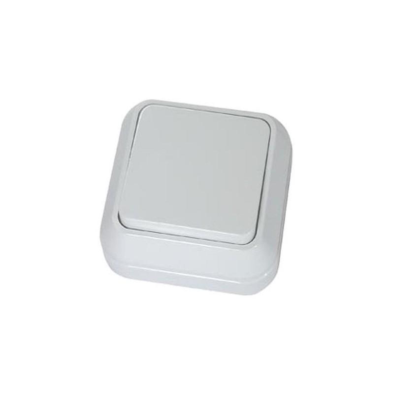 Выключатель MAKEL 45101 одноклавишный 220в, 10А, О/У