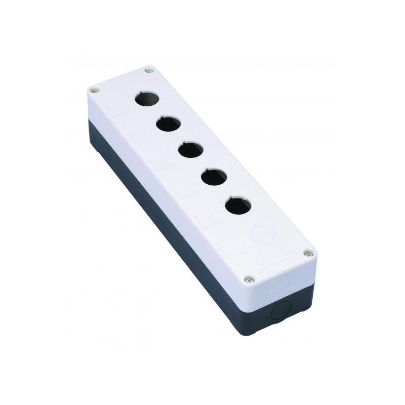 пост кнопочный КП 105 250х70х65мм, 5 мест, (IP31)