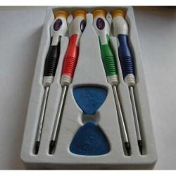 Набор инструментов YX-661/отвертки, 4шт., T5, T6, T7, T2