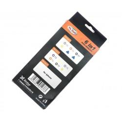 Набор инструментов YX-662/отвертки, 6шт., T3, T4, T5, Т6, Т7