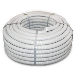 Труба гофрированная D25мм/ПВХ, протяжка, IP55