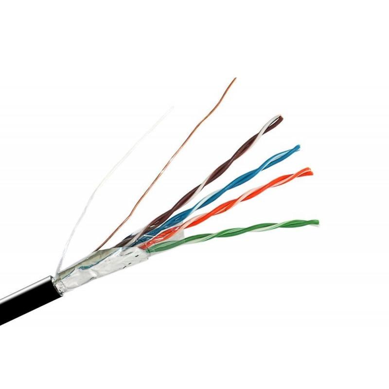 Кабель FTP 5e 4х2х0.5 ProConnect LT / наружный 100Мгц, экран