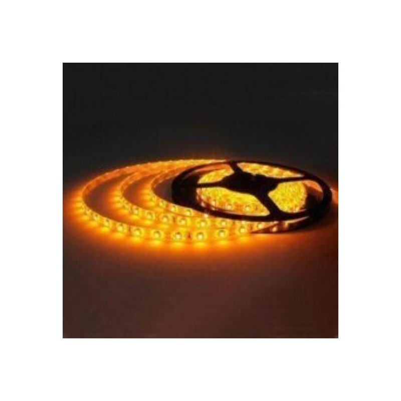 лента светодиодная 3528/60-12-Y 12в, 4,8вт/м, 60шт/м, желтый