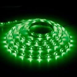 лента светодиодная 3528/60-12-G (IP65)/12в, 4.8вт/м, 60шт/м, зеленый