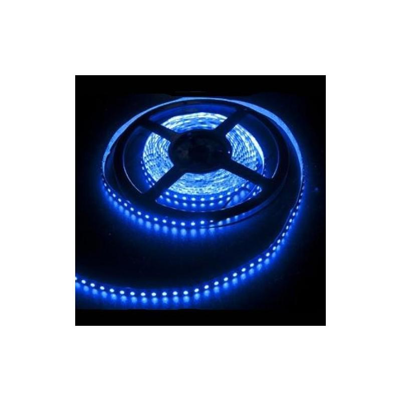 лента светодиодная 3528/120-12-B (IP65) 12в, 9,6вт/м, 120шт/м, синий