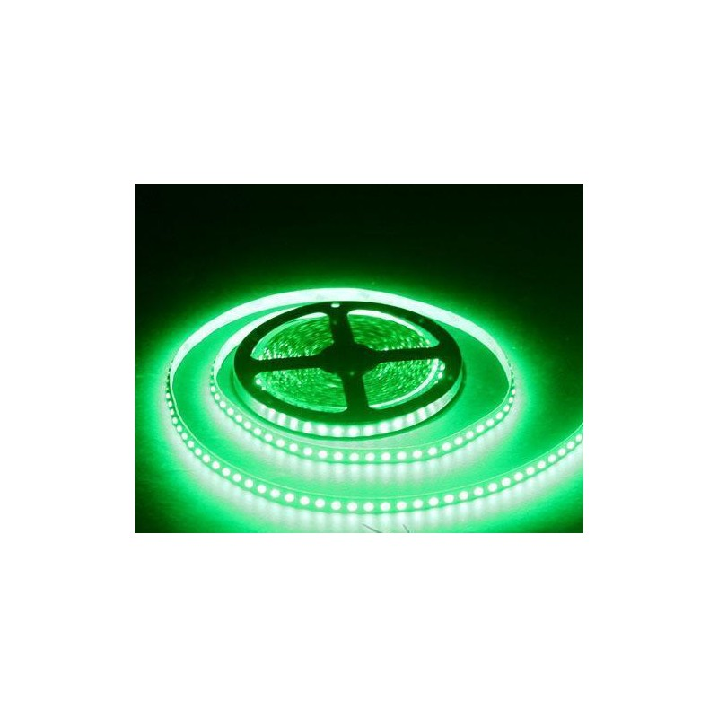 лента светодиодная 3528/120-12-G (IP68) 12в, 9,6вт/м, 120шт/м, зеленый