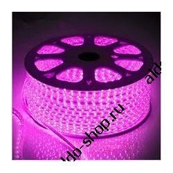 лента светодиодная 3528/60-12-P (IP68)/12в, 4.8вт/м, 60шт/м, розовый