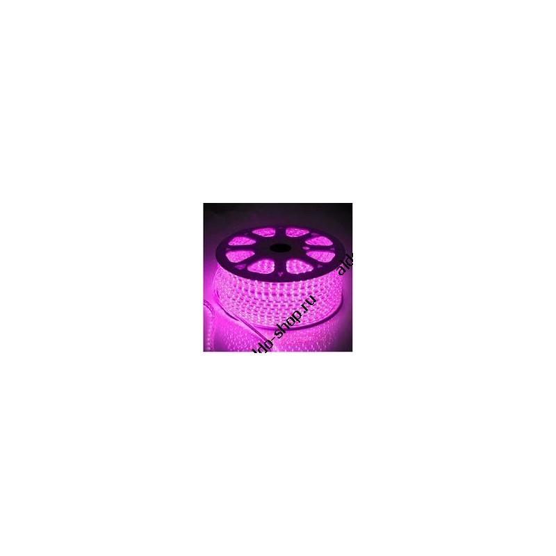 лента светодиодная 3528/60-12-P (IP68) 12в, 4.8вт/м, 60шт/м, розовый