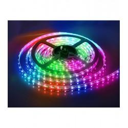 лента светодиодная 5050/60-12-RGB (IP65)/12в, 14.4вт/м, 60шт/м, RGB