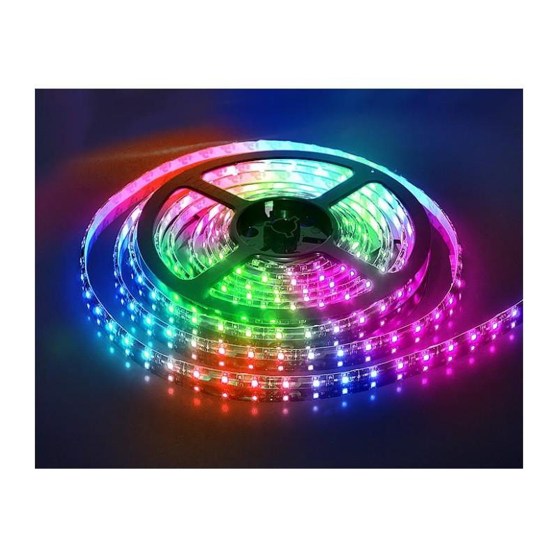 лента светодиодная 5050/60-12-RGB (IP65) 12в, 14.4вт/м, 60шт/м, RGB