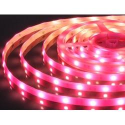 лента светодиодная 5050/30-12-P (IP65)/12в, 7.2вт/м, 30шт/м, розовый