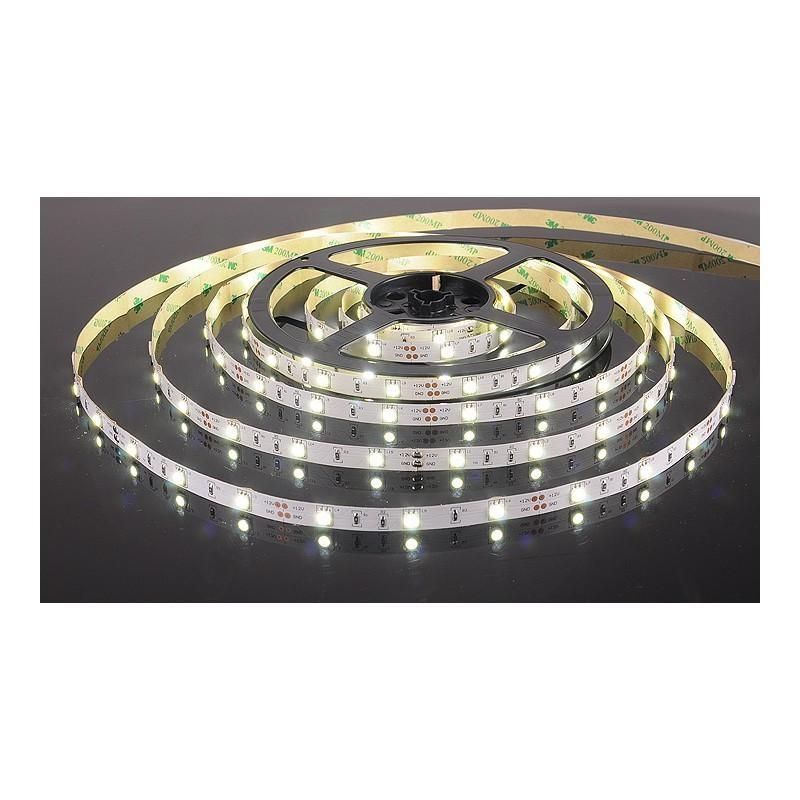 лента светодиодная 5050/30-12-W (IP68) 12в, 7.2вт/м, 30шт/м, белый холодный