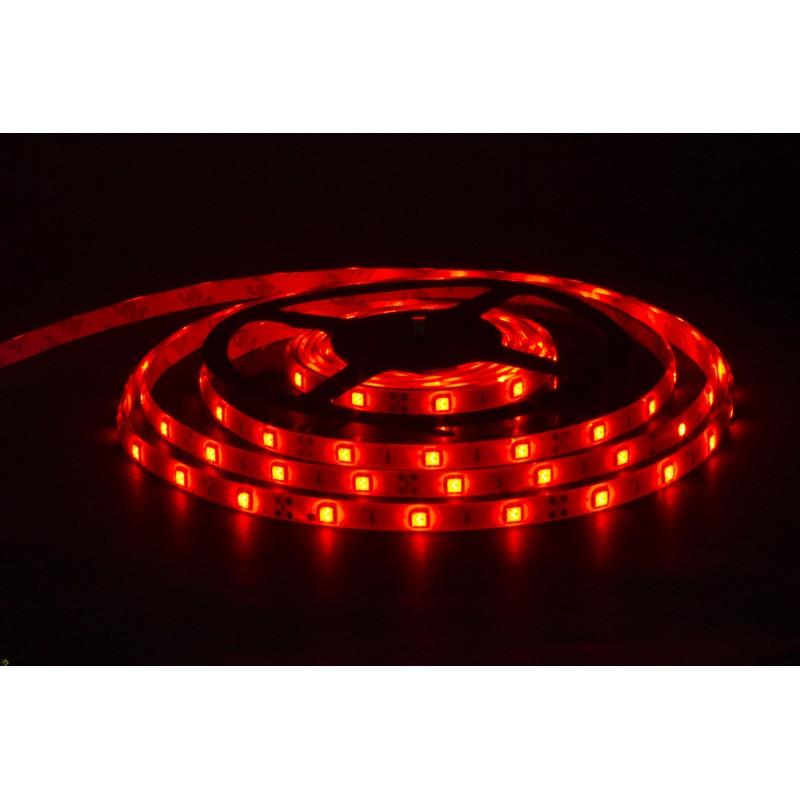 лента светодиодная 5050/30-12-R (IP68) 12в, 7.2вт/м, 30шт/м, красный