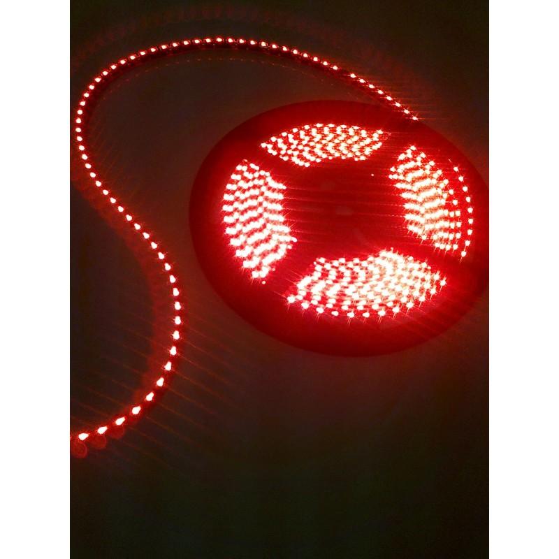лента светодиодная торцевая 335/120-12-R (IP68) 12в, 9,6вт/м, 120шт/м, красный