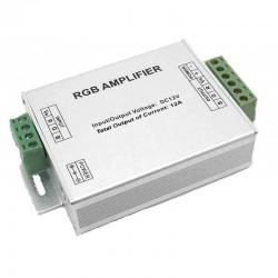 Усилитель для контроллера RGB 12A/металический корпус