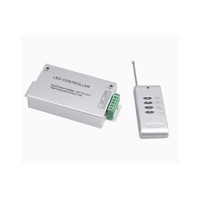 Контроллер светодиодной ленты RGB 3x4A WiFi (радиопульт) Управление Android, IOS + Радиопульт