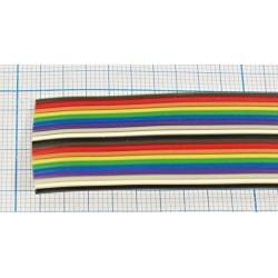 Шлейф RC-14 color/1.27мм, 105°, 300в