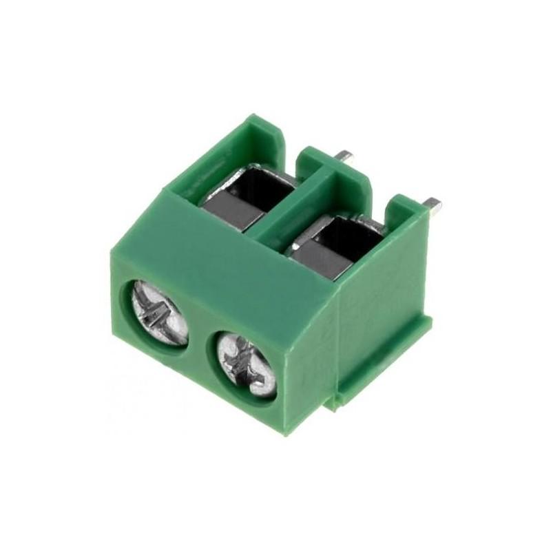 Клеммник DG126-5.0-02P-14 /винтовой 2pin, 5.0мм, 10А, 300в