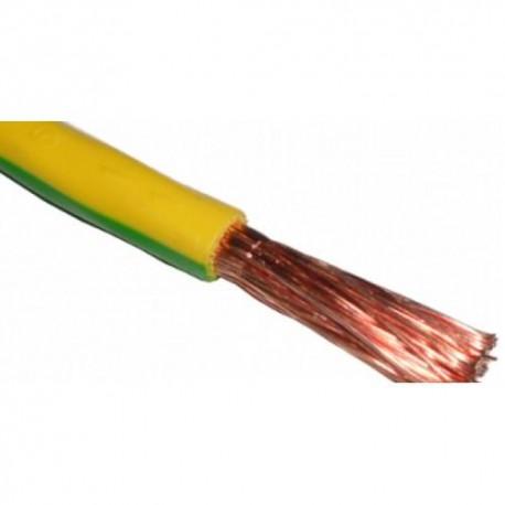 Провод ПВ3 1х1.5 /желто-зеленый