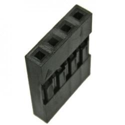 Разъем штыревой BLS-4/гнездо, кабельное, 1х4, 2.54мм