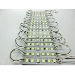 модуль светодиодный 6LED 5050B /90х14х6мм//синий, 12в, 120лм, IP65
