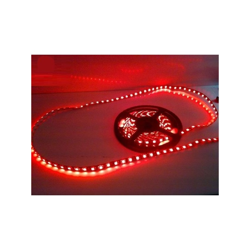 лента светодиодная 5050/60-12-R 12в, 14.4вт/м, 60шт/м, красный