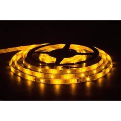 лента светодиодная 5050/30-12-Y (IP65)/12в, 7.2вт/м, 30шт/м, желтый