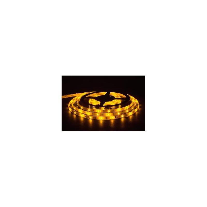 лента светодиодная 5050/30-12-Y (IP65) 12в, 7.2вт/м, 30шт/м, желтый